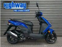 2020 Sym Mask 50 EFI Blue Scooter Learner Legal Latest Model P/X Welcome