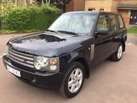 LHD LEFT HAND DRIVE RANGE ROVER VOGUE HSE 2004 CREME INTERIOR PETROL FULLY LOADED CLEAN IMMACULATE