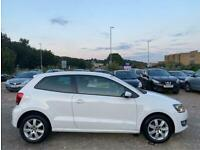 2014 Volkswagen Polo 1.4 Match Edition 3dr DSG HATCHBACK Petrol Automatic