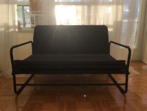 Ikea Couch/Futon - Dark Grey