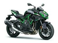 New 2021 Kawasaki Z H2 Supercharged Naked **IN STOCK** GREEN