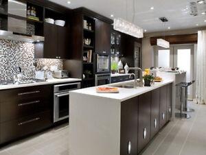 Solid Maple Cabinet 50% OFF,^Granite/Quartz Countertops From $45