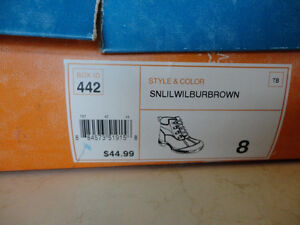 Brand New Boys Size 8 Sonoma Brown Ankle Boots - Never Worn Kitchener / Waterloo Kitchener Area image 9