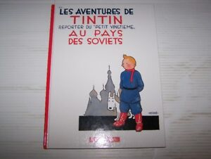 10 Bandes dessinées de TINTIN - lot no 1