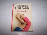 Lit double roman de Jeanette Bertrand