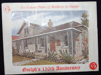Set of 6 Colour Prints of Historic Guelph Sites Watch|Share |Pri