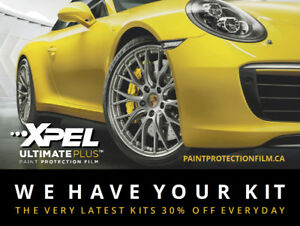 XPEL ULTIMATE PLUS PAINT PROTECTION FILM - SAVE 30% OFF MSRP
