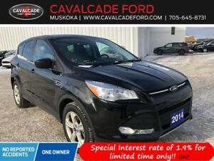 2014 Ford Escape SE - 4WD with backup cam, htd front seats!!