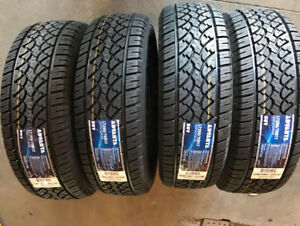 Set of 4 BRAND New LT265/70R17 or P265/70R17 All Weather TIRES