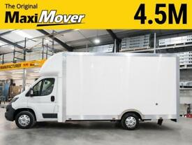 2018 (67) Peugeot Maxi Mover 4.5m (14ft 9) High Roof Lightweight Low Loader Van