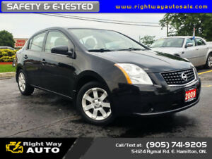 2009 Nissan Sentra FE+ | 173Km | SAFETY & E-TESTED