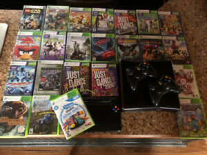 Xbox 360 with all parts and 24 games!   Amazing Deal!!!