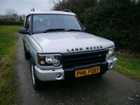 03/53 Land Rover Discovery Td5 manual GS 7seat