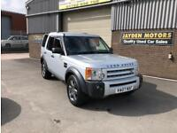 2007 LAND ROVER DISCOVERY 3 2.7TD V6 AUTO HSE 7 SEATER