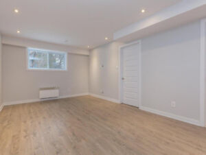 FINISHED ONE-BEDROOM BASEMENT FOR RENT-WEST ISLAND