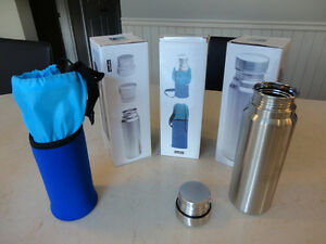 "Brand New Highwave ""Bigwater"" Water or Wine Stainless Bottle"
