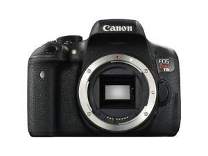 Canon T6i avec objectif 24mm f/2.8 STM et 50mm f/1.8 STM