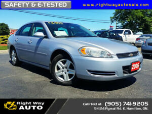 2006 Chevrolet Impala LS | NEW TIRES | SAFETY & E-TESTED