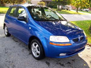 2005 Pontiac Wave Hatchback