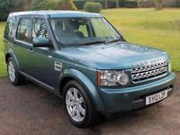 2012 (12) Land Rover Discovery 4 3.0SD V6 (255bhp) GS Auto 4x4