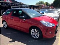 2011 Citroen DS3 1.6 VTi DStyle 3dr Petrol red Automatic