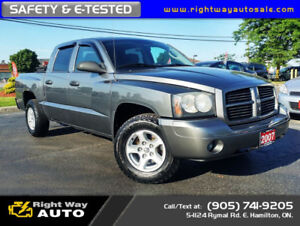 2007 Dodge Dakota Quad ST | NEW TIRES | SAFETY & E-TESTED