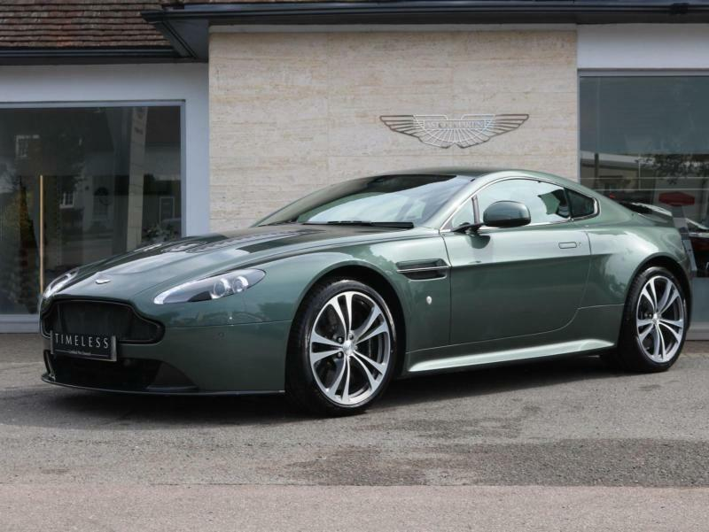 Aston Martin V Vantage S Dr Sportshift III Automatic Petrol - How much is an aston martin