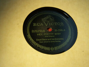 Lovely NM Jazz 78 RPM! Count Basie! Hey, Pretty Baby! RCA Victor