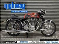 1999 Royal Enfield Bullet 350cc Cafe Racer Running Project Px To Clear