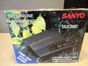 Sanyo TAS360 Phone Answering machine. Works perfectly