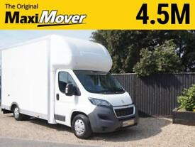 2018 (18) Peugeot Maxi Mover 4.5m (14ft 9) x 2.7m Enterprise Low Floor Luton Van