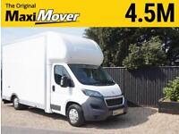 2018 (18) Peugeot Maxi Mover 4.5m (14ft 9) x 2.7m Enterprise Low Floor Luton Van