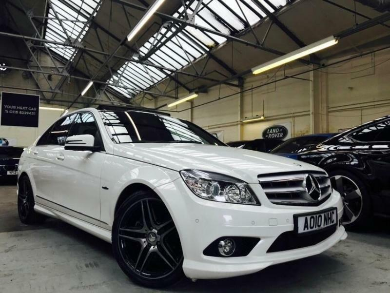 2010 mercedes benz c class 2 1 c200 cdi blueefficiency sport saloon 4dr in basford. Black Bedroom Furniture Sets. Home Design Ideas