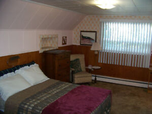 Heated and Furnished Room
