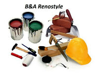 B&A Renostyle Construction Services & Renovations