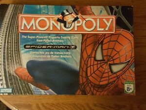 SPIDERMAN MONOPOLY BOARD GAME