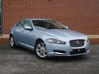 2012 12 Jaguar XF 2.2 TD Luxury 4dr (Blue, Diesel)