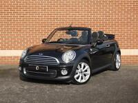 2011 61 Mini Convertible 1.6 Cooper D 2dr (Black, Diesel)
