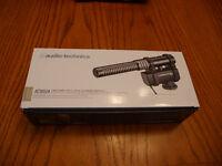 Audio-Technica AT8024 Stereo/Mono Camera-Mount Microphone (NEW)