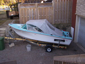 14ft Crestliner Runabout with Trailer