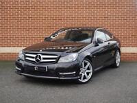 2012 12 Mercedes C Class C220 2.1 CDI BlueEfficiency Sport 4dr (Black, Diesel)