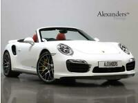 Porsche 911 3.8 991 Turbo S Cabriolet PDK AWD 2dr Convertible Petrol Automatic