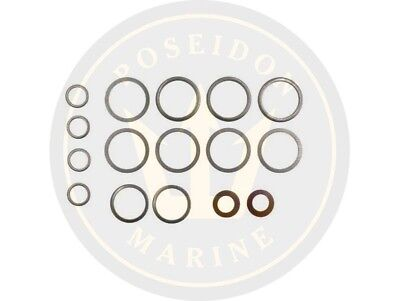 Fuel washer seal kit fuel pipe for Volvo Penta 2001 2001AG 2001B 2001BG