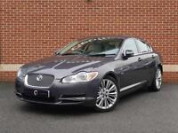 2010 10 Jaguar XF 3.0 TD V6 Premium Luxury 4dr (Grey, Diesel)