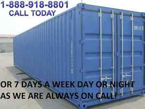 SHIPPING CONTAINERS FOR PERFECT & SAFE STORAGE!!