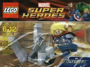 LEGO SUPERHEROES Thor and the Cosmic cube BRAND NEW SEALED RARE