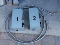 SAFETY SWITCHES WITH FUSES