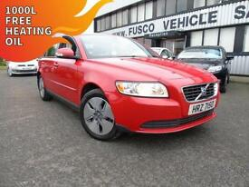 2010 Volvo S40 1.6D DRIVe S - Red - Platinum Warranty!