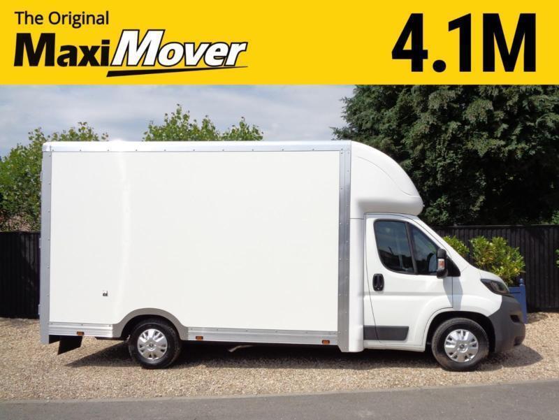 cd6c003e4c293e 2018 (68) Peugeot Maxi Mover Enterprise 22m3 Low Floor   Low Loader Luton  Van