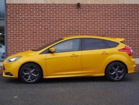 2013 63 Ford Focus 2.0 T ST ST-2 5dr (Tangerine Scream, Petrol)